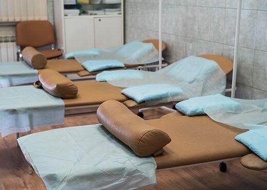 Процедурный кабинет в клинике «ТитАн»