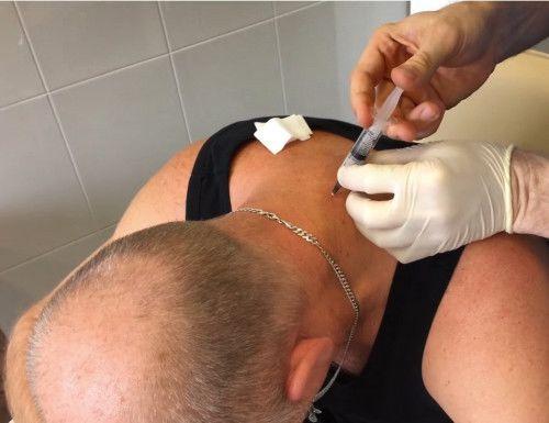 Лечение блокадами в клинике позвоночника