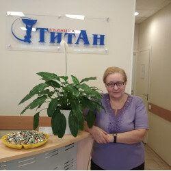 Пациент клиники позвоночника Емельянова Ирина Владимировна оставил отзыв о лечении