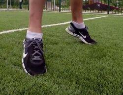 Движение на носочках