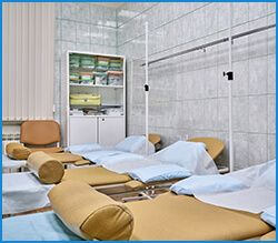 Процедурный кабинет в клинике позвоночника и суставов «ТитАн»