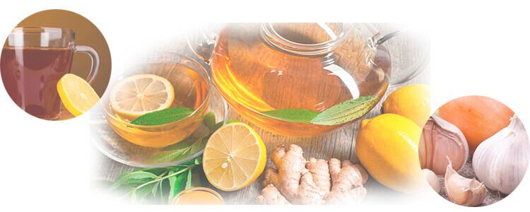 Мёд с лимоном и чесноком
