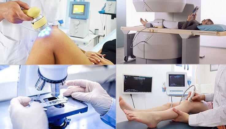 Процедуры при лечении артрита